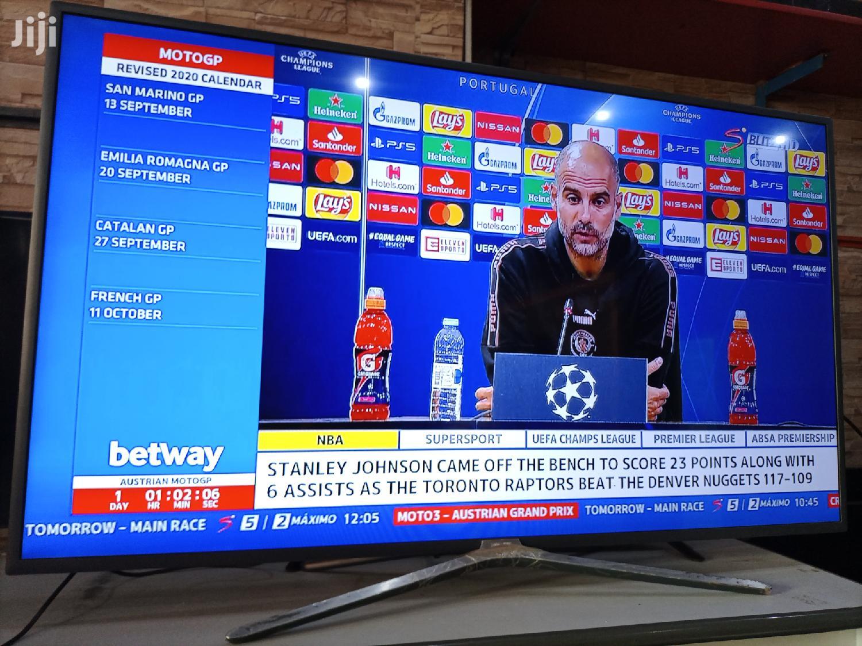 Samsung Smart 60 Inches 4K Digital Super Slim Flat Screen TV | TV & DVD Equipment for sale in Kampala, Central Region, Uganda