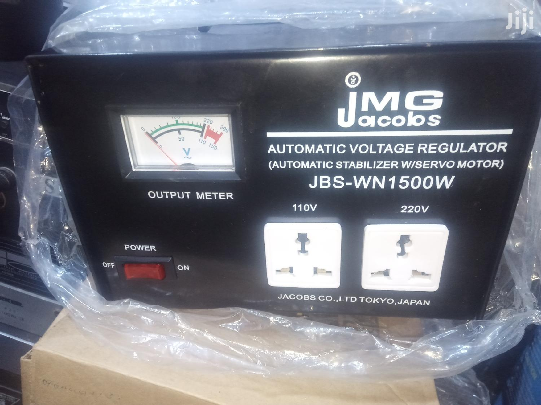 Jacobs 1500 Watts Power Stabilizer Regulator