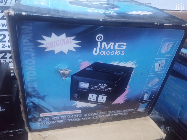 Jacobs 1500 Watts Power Stabilizer Regulator | Electrical Equipment for sale in Kampala, Central Region, Uganda