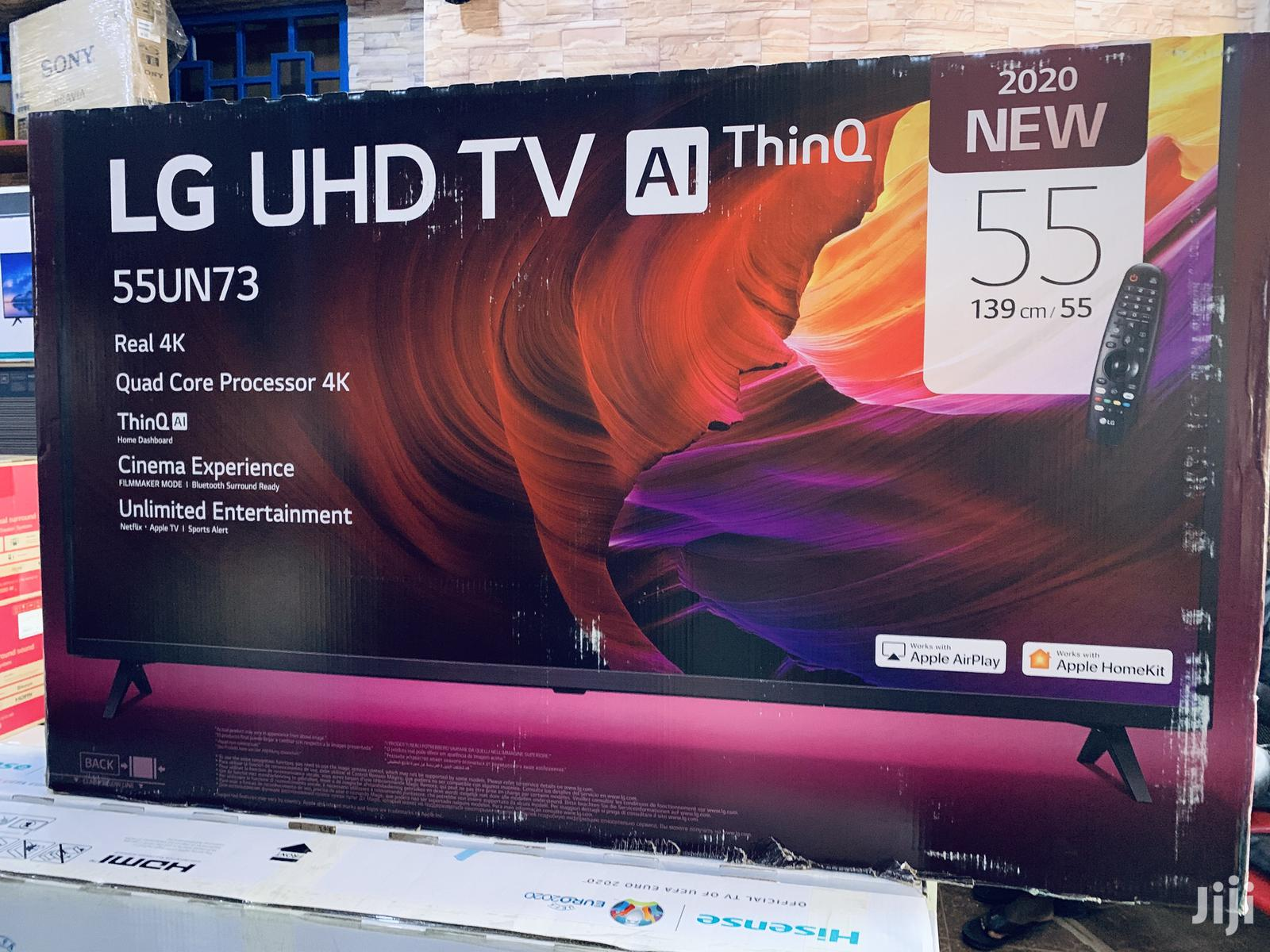 LG 55 Inches Smart UHD TV | TV & DVD Equipment for sale in Kampala, Central Region, Uganda