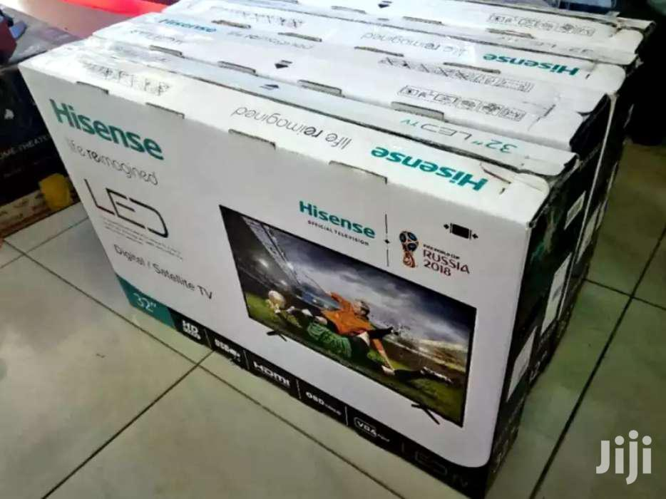 New Hisense Flat Screen Tv 32 Inches | TV & DVD Equipment for sale in Kampala, Central Region, Uganda