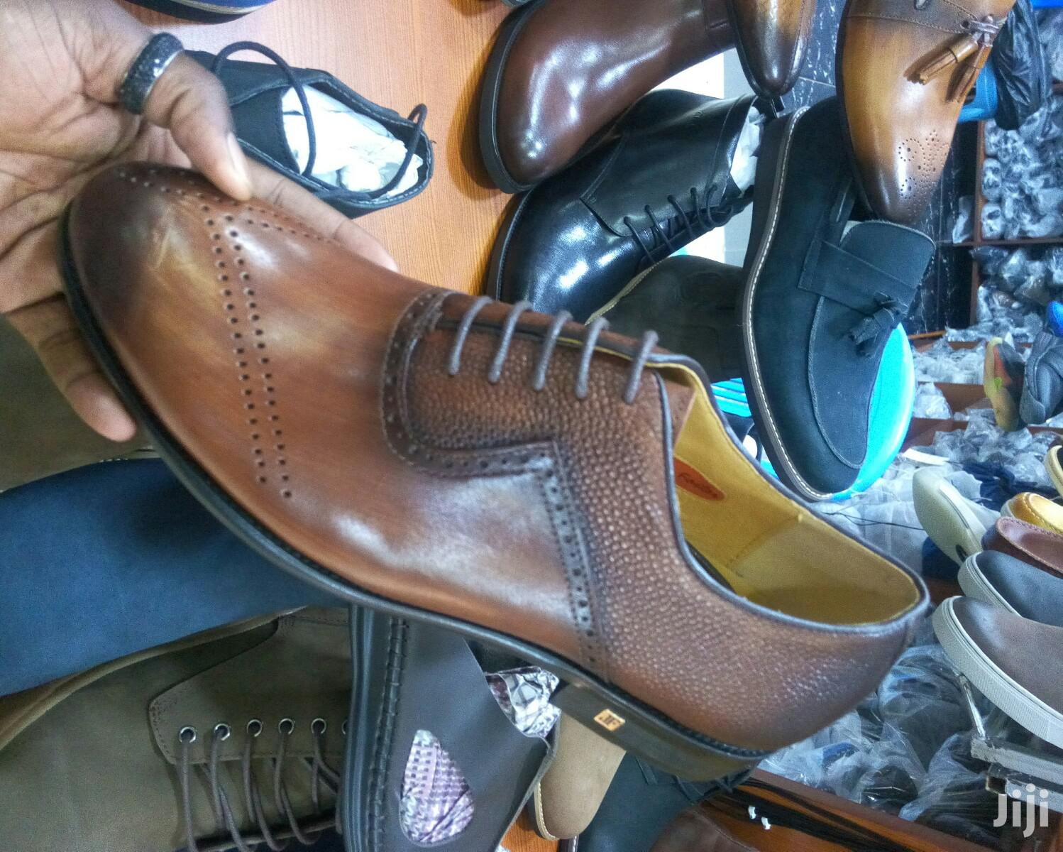 Pure Leather Gentle Shoes   Shoes for sale in Kampala, Central Region, Uganda