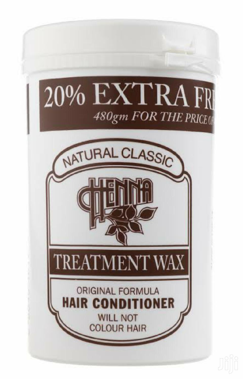 Henna Wax Original Hair Conditioner 240G Natural Classic