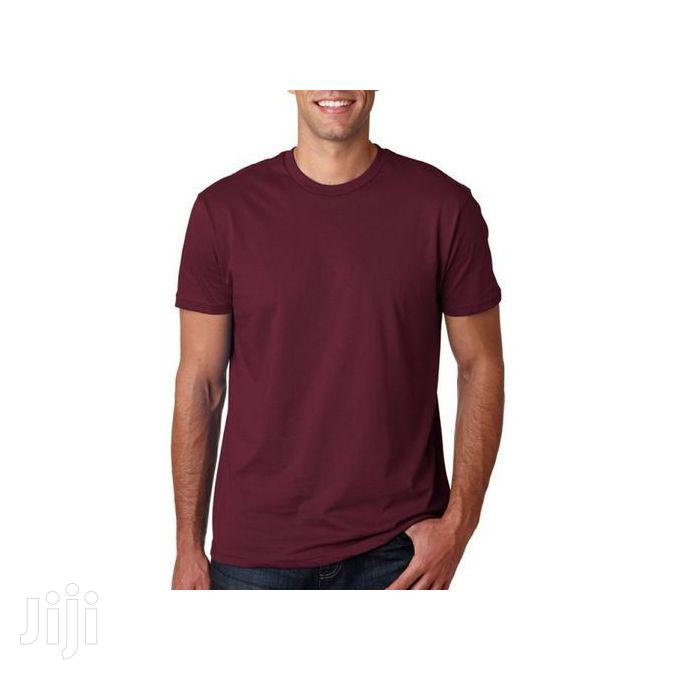 5 in 1 Pack of Men's Round Neck T-Shirts | Clothing for sale in Kampala, Central Region, Uganda