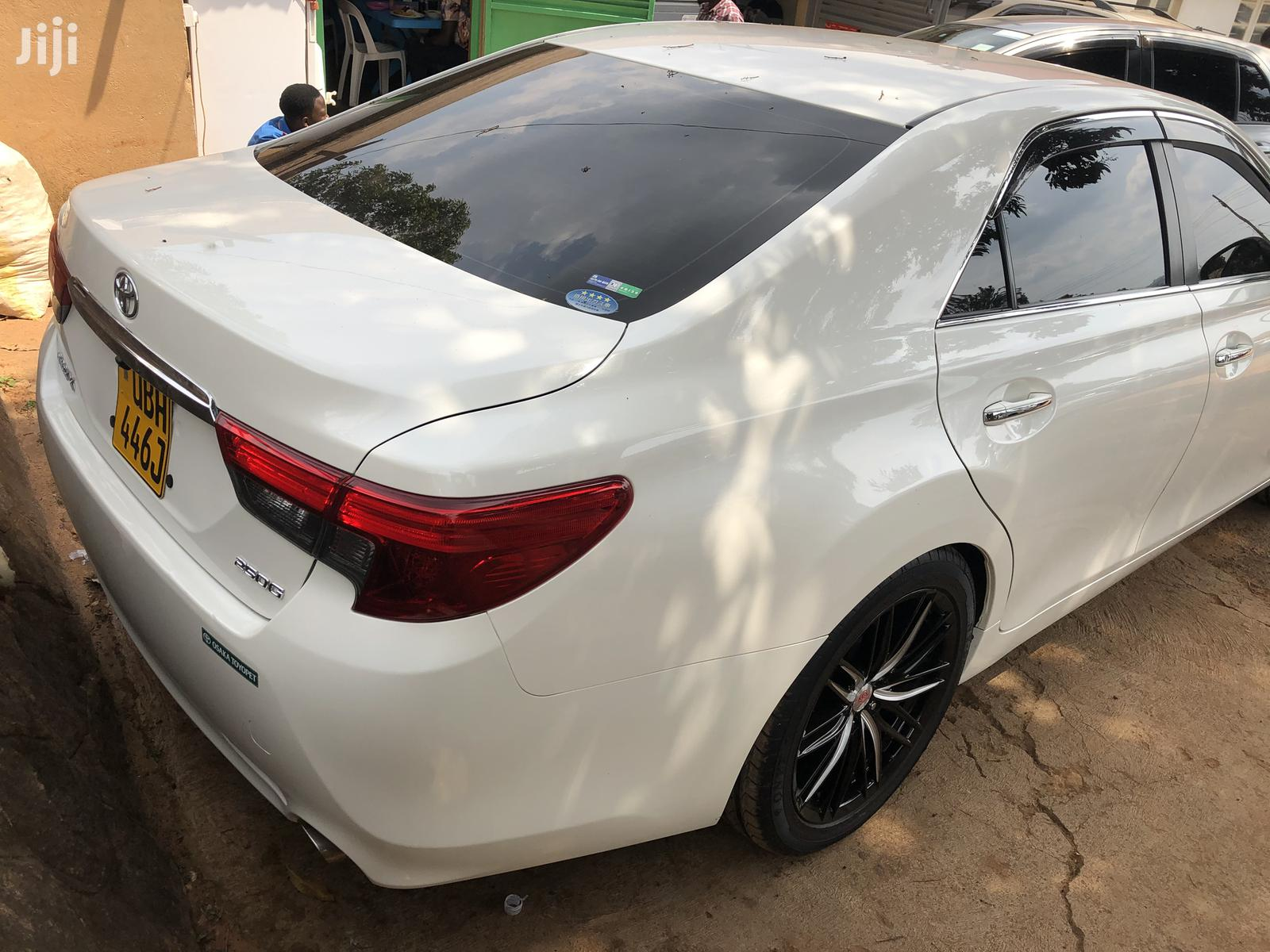 Toyota Mark X 2013 White | Cars for sale in Kampala, Central Region, Uganda