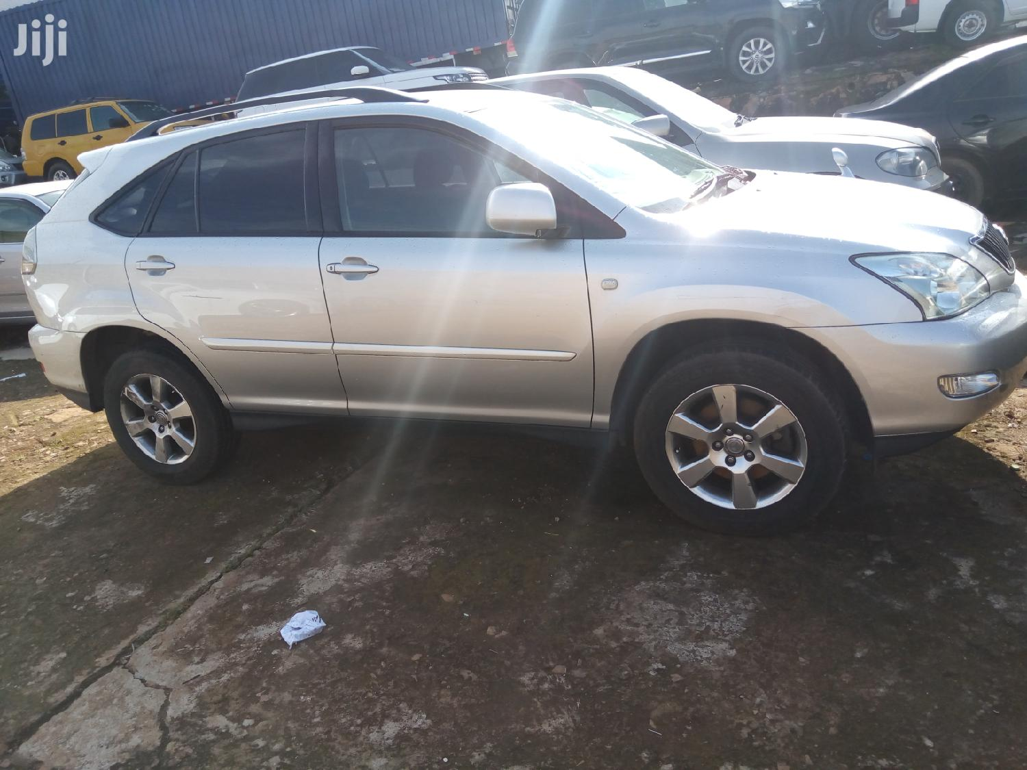 Toyota Harrier 2007 Silver