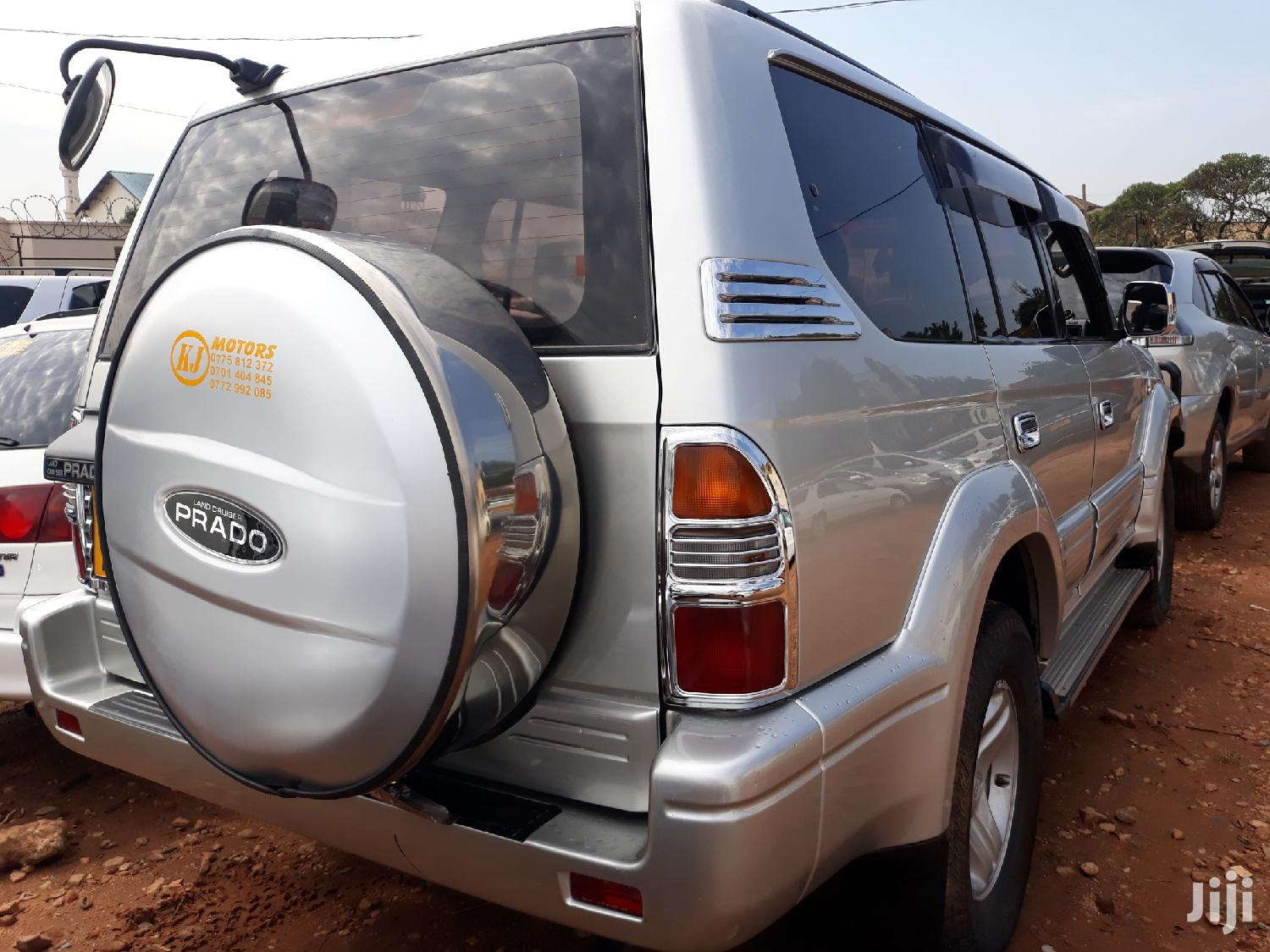 Toyota Land Cruiser Prado 1999 Silver | Cars for sale in Kampala, Central Region, Uganda