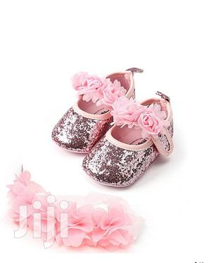 Baby Shoes With Head Band | Children's Shoes for sale in Central Region, Kampala
