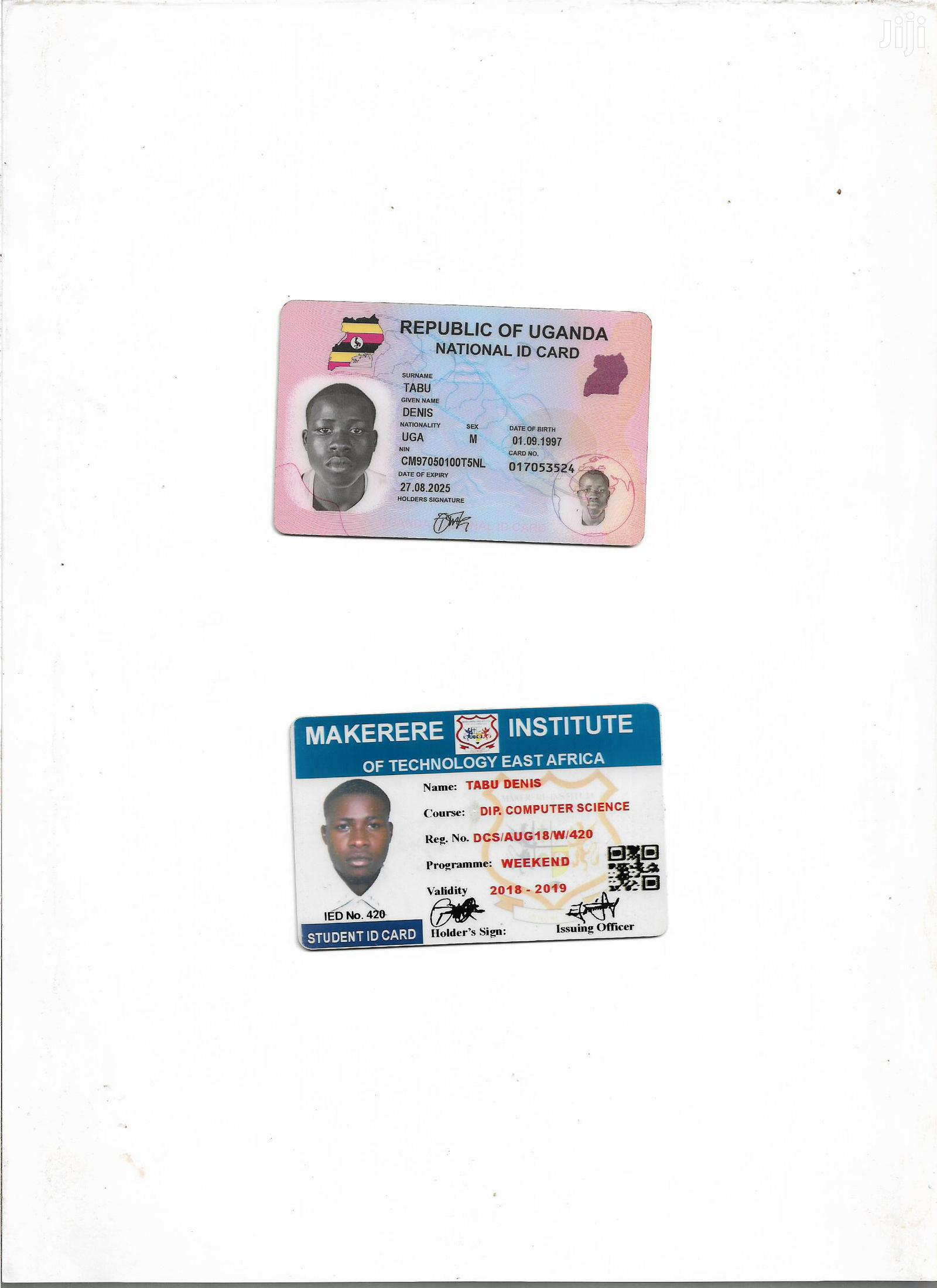 Computing & IT CV | Computing & IT CVs for sale in Gulu, Nothern Region, Uganda