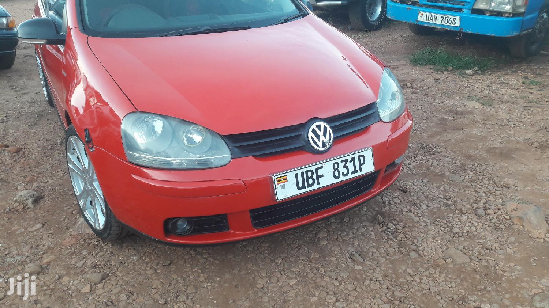 Volkswagen Golf 2005 Red