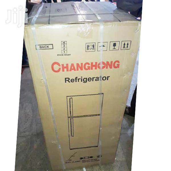 Changhong CD-155 Double Door Refrigerator- 155L Fridge | Kitchen Appliances for sale in Kampala, Central Region, Uganda