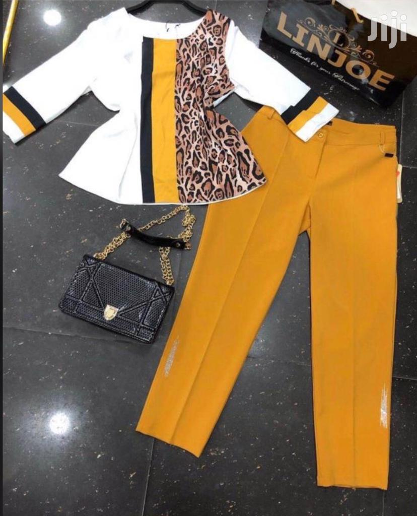 Classy Pant And Top (2piece)
