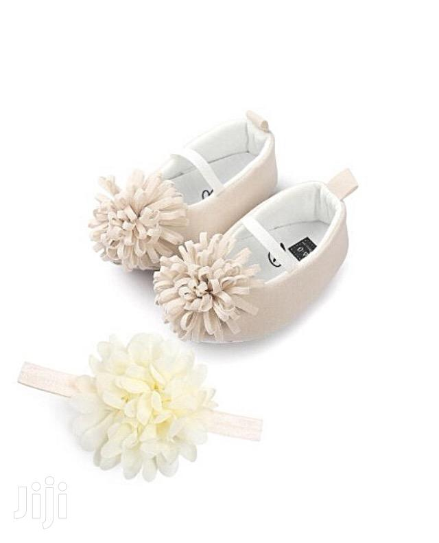 Baby Shoes With Head Band