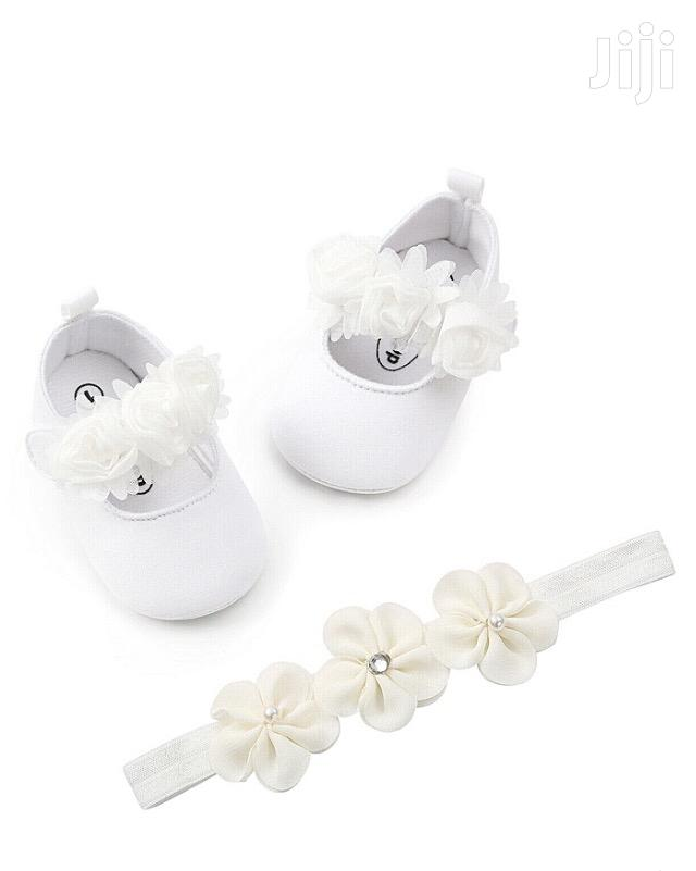 Archive: Baby Shoes With Head Band