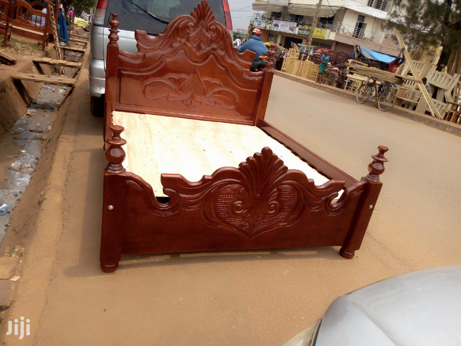 Mega Bed 5 by 6 in Hard Wood
