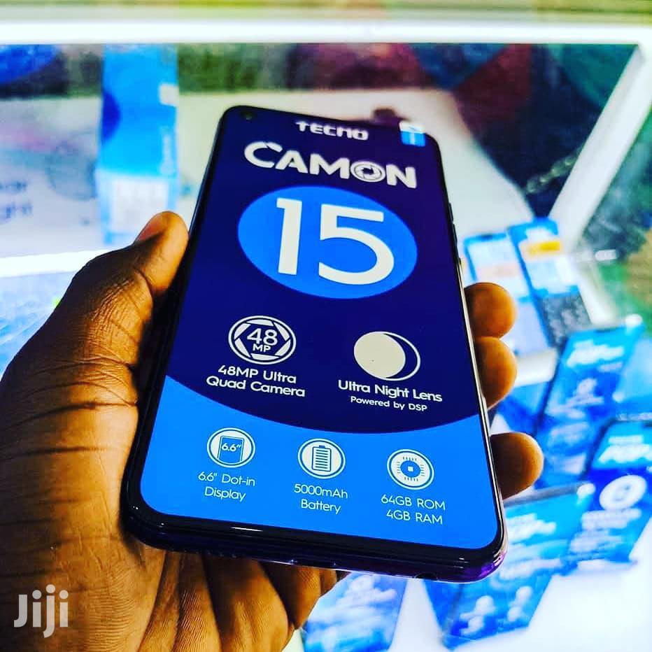 New Tecno Camon 15 64 GB Black