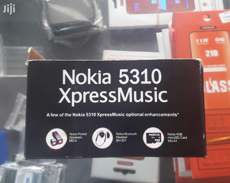 New Nokia 5310 XpressMusic Blue   Mobile Phones for sale in Kampala, Central Region, Uganda