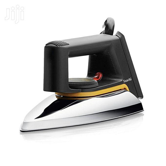 Saachi Non Stick Dry Flat Iron NL-1R-1172 - Silver,Grey | Home Appliances for sale in Kampala, Central Region, Uganda