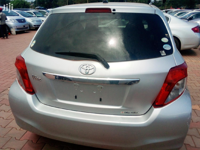 Archive: Toyota Vitz 2011 Silver