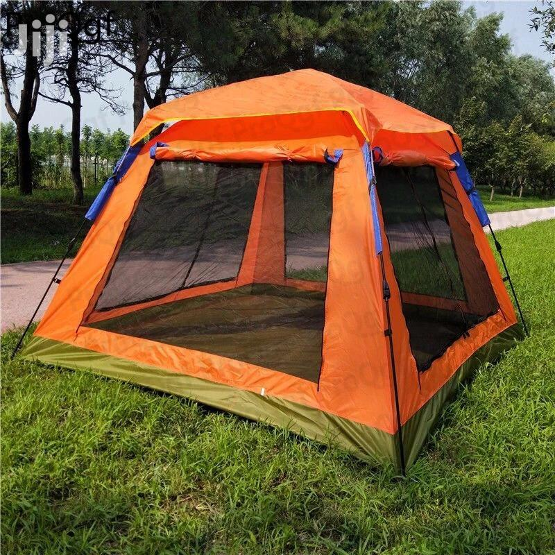Automatic 6 People 2 Layer Camping Tent
