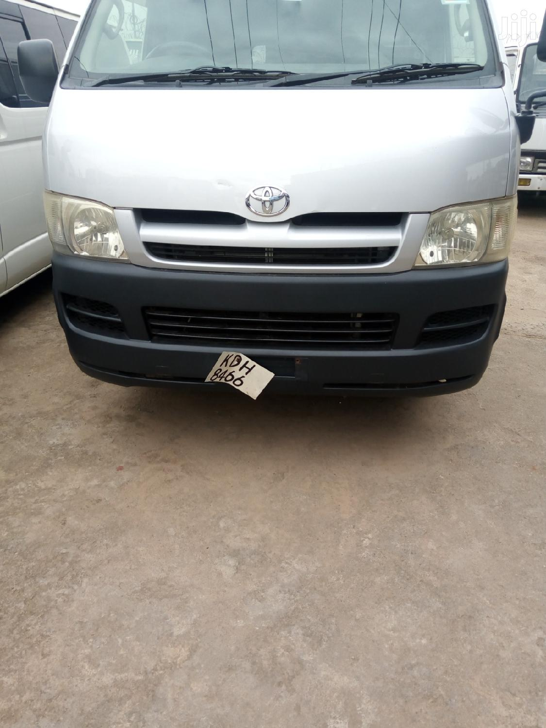 Toyota HiAce 2007 Gray | Buses & Microbuses for sale in Kampala, Central Region, Uganda