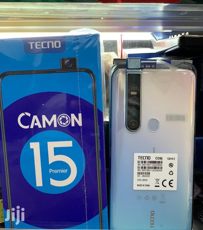 New Tecno Camon 15 Premier 128 GB White | Mobile Phones for sale in Kampala, Central Region, Uganda
