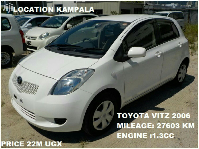Archive: Toyota Vitz 2006 White