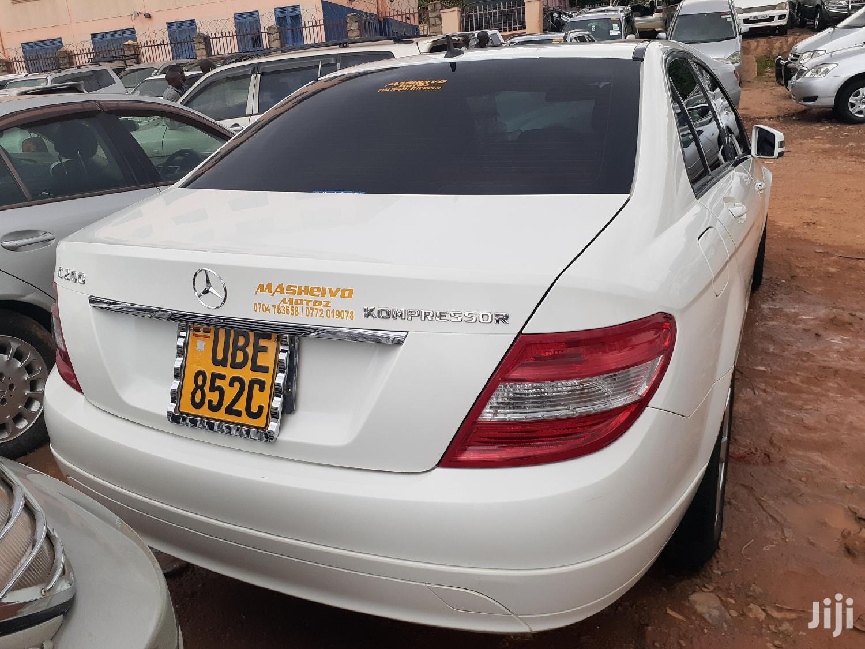 Mercedes-Benz C200 2009 White | Cars for sale in Kampala, Central Region, Uganda