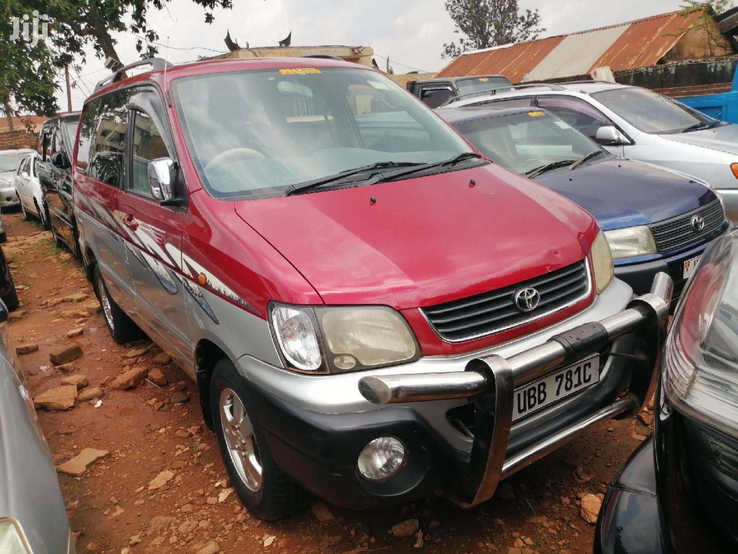 New Toyota Noah 1998 Red