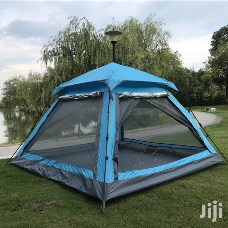 Instant 6 People Automatic Camping Tent