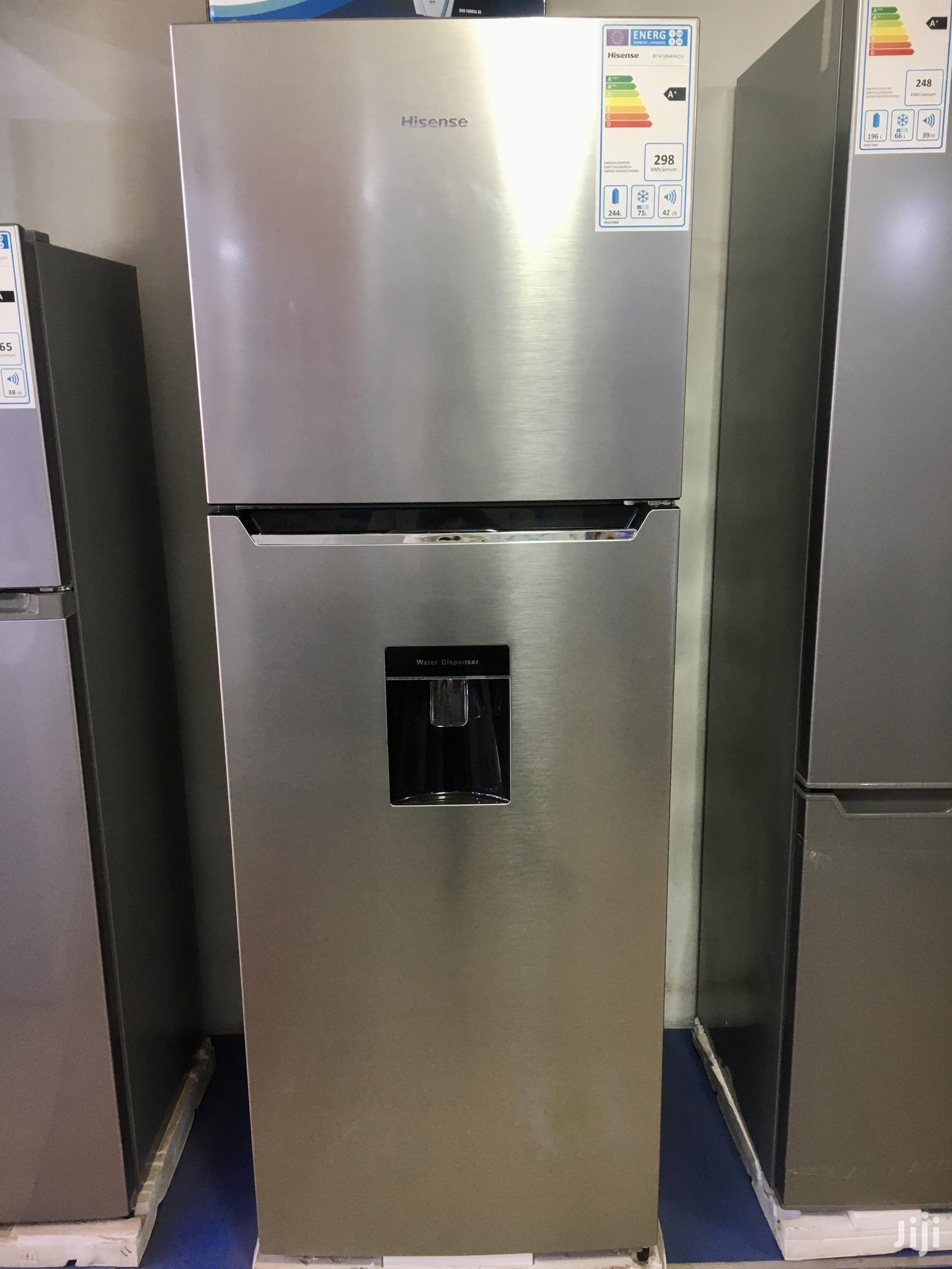 Hisense 419 Litres Refridgerator Frost Free With Dispenser