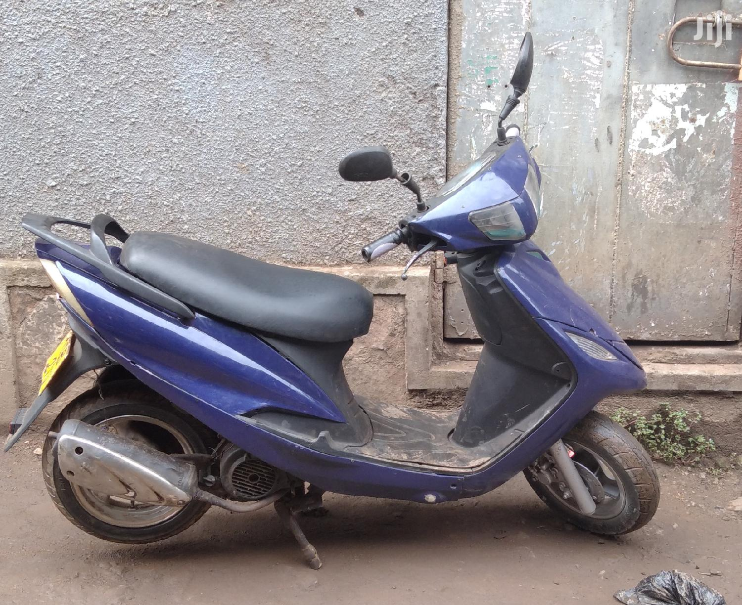 Archive: Kymco 2000 Blue