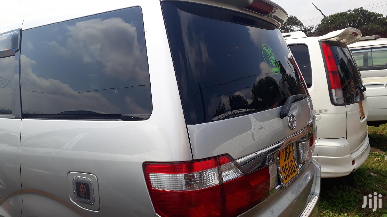New Toyota Alphard 2003 Silver   Cars for sale in Kampala, Central Region, Uganda