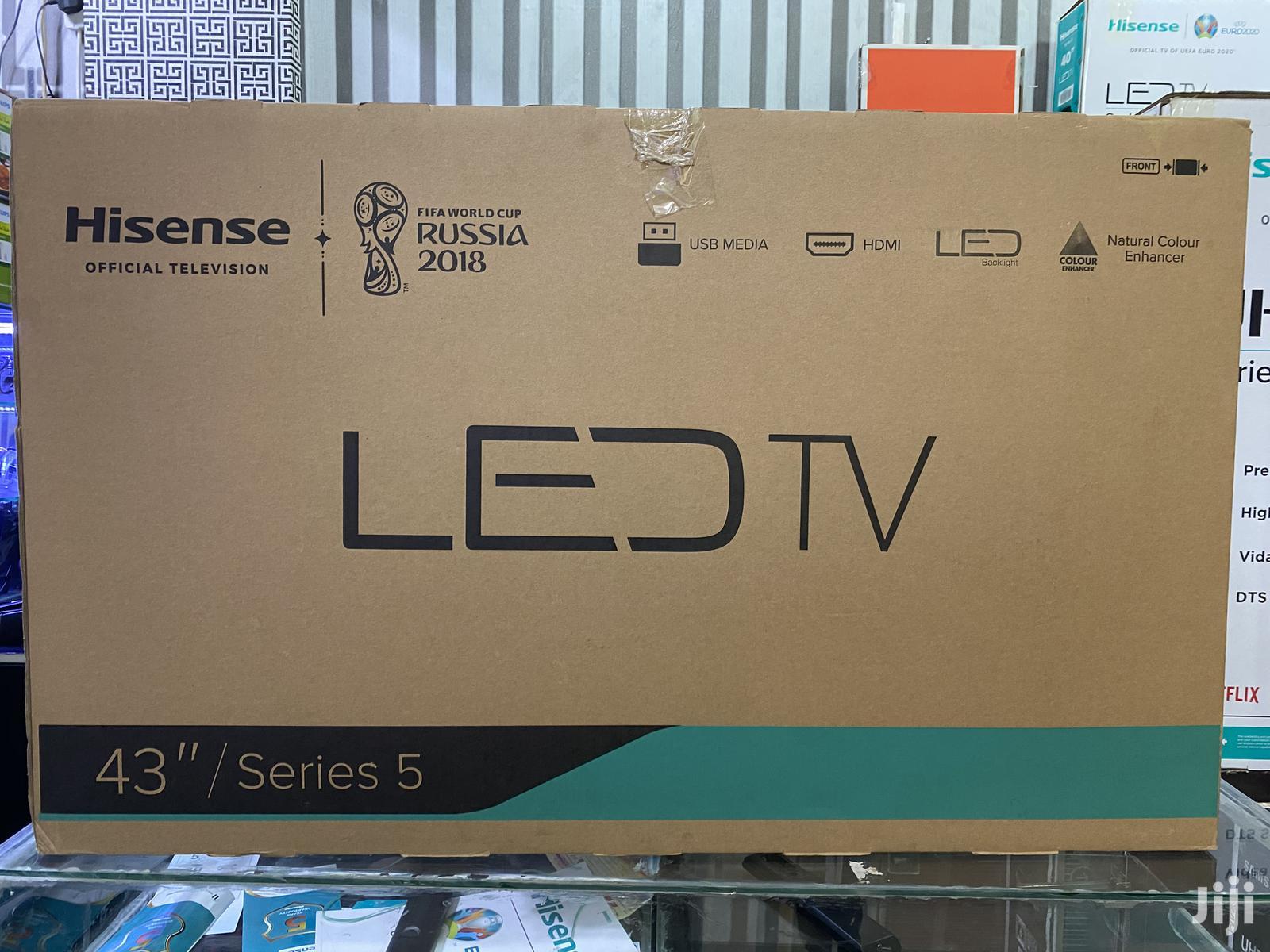 "Archive: Hisense 43"" Digital and Satellite Enabled LED TV"