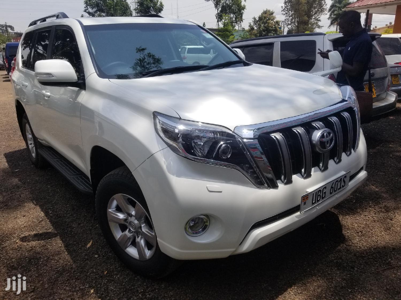 Toyota Land Cruiser Prado 2016 White