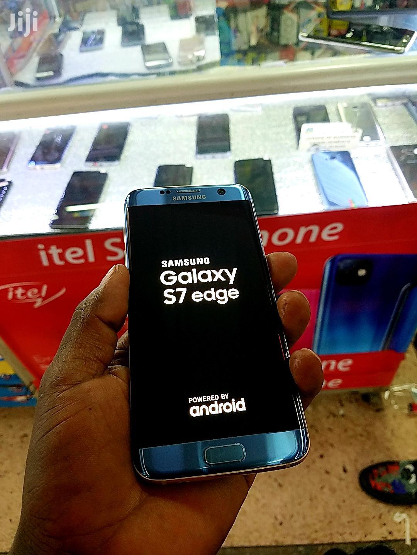 Samsung Galaxy S7 edge 32 GB Blue   Mobile Phones for sale in Kampala, Central Region, Uganda