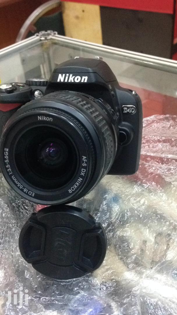 Archive: New Nikon D40 DSLR Camera
