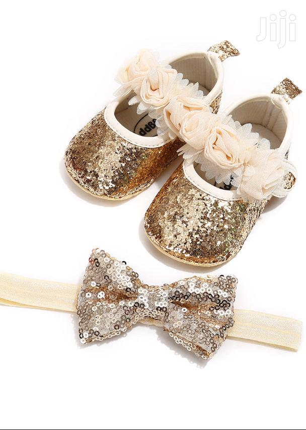 Archive: Baby Shoes With Headband