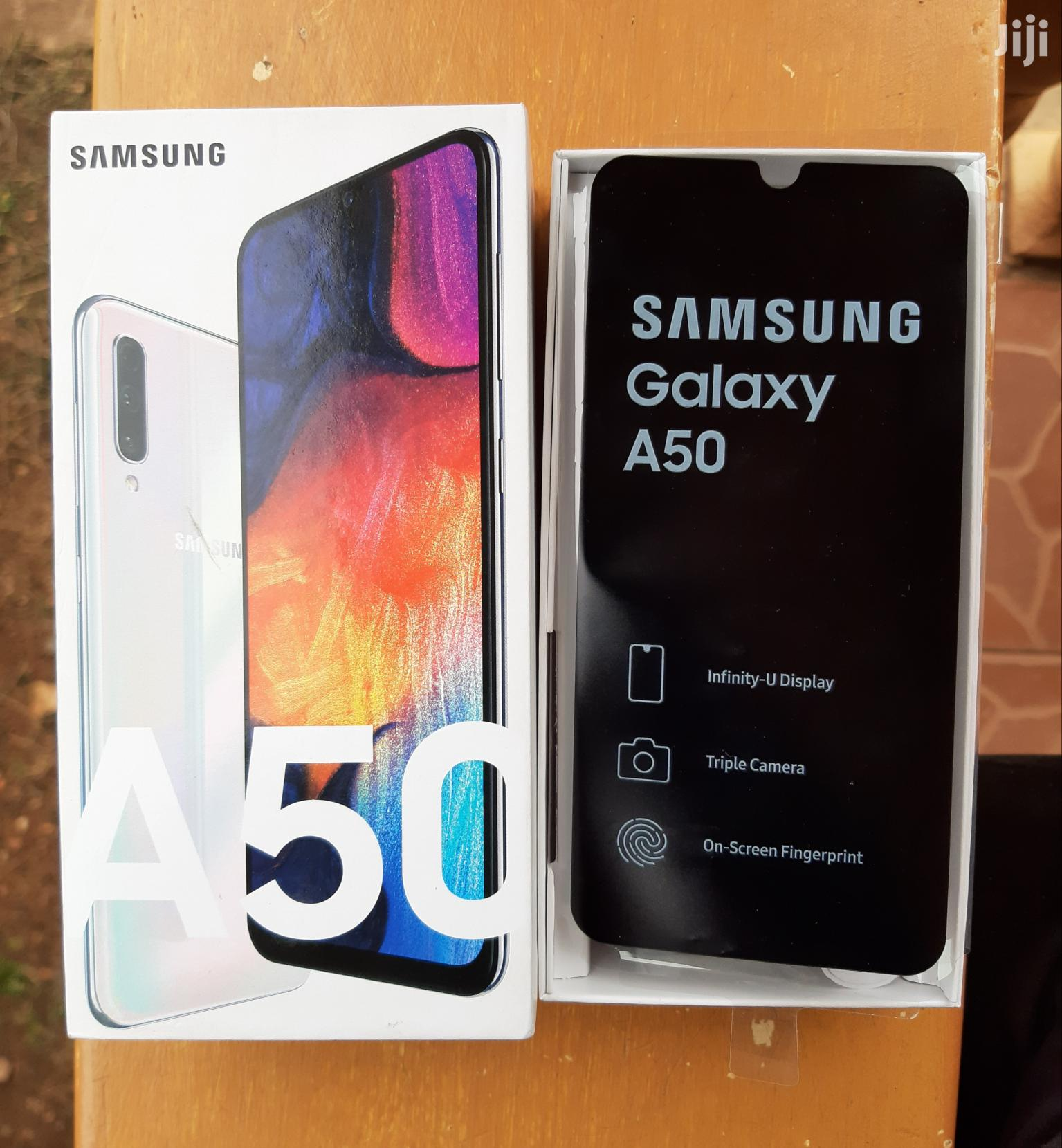 New Samsung Galaxy A50 128 GB White | Mobile Phones for sale in Kampala, Central Region, Uganda
