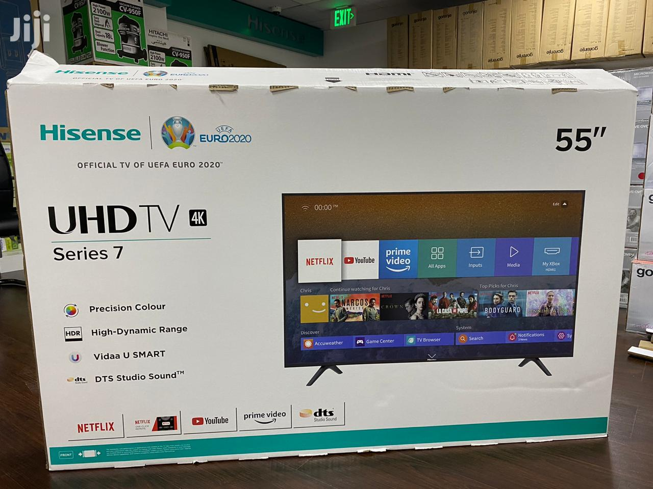 Hisense TV 55 Inches