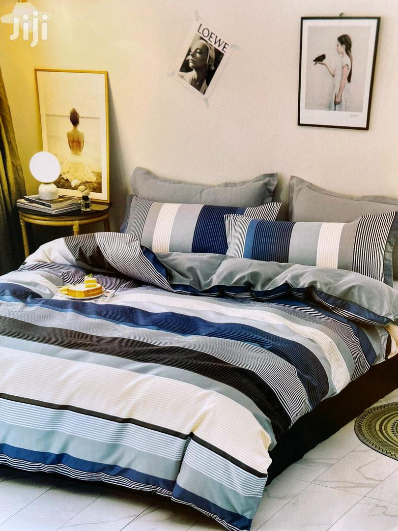 Exective 10 Pcs Duvet 100%Cotton With Bedroom Curtains 6x6 | Home Accessories for sale in Kampala, Central Region, Uganda