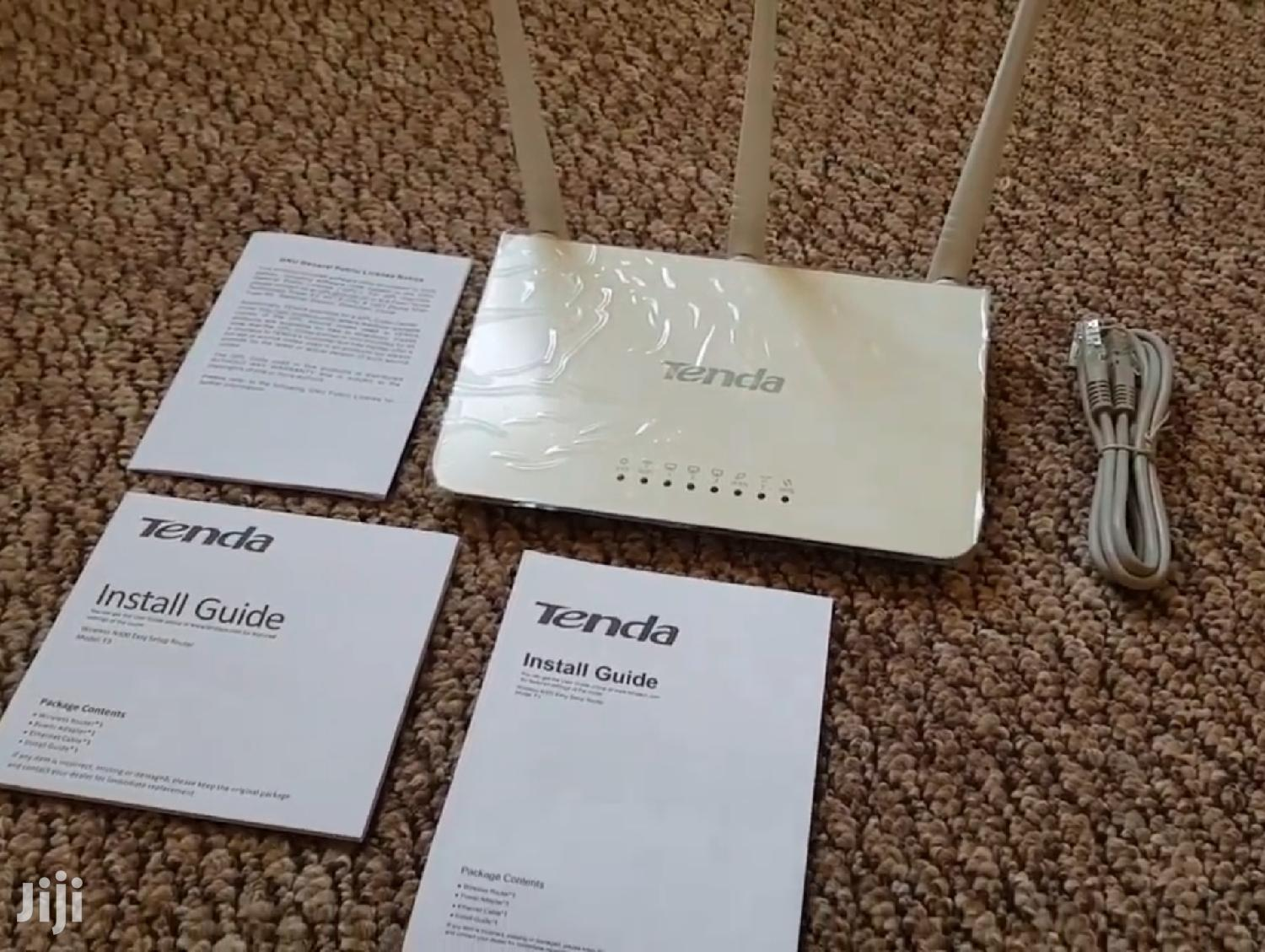 Tenda F3 Wifi Router Extender | Networking Products for sale in Kampala, Central Region, Uganda