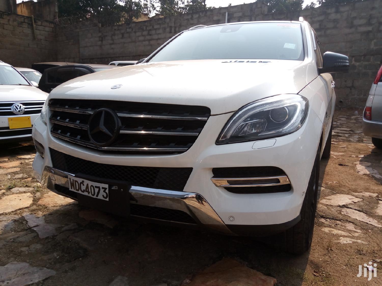 Mercedes-Benz M Class 2012 Silver