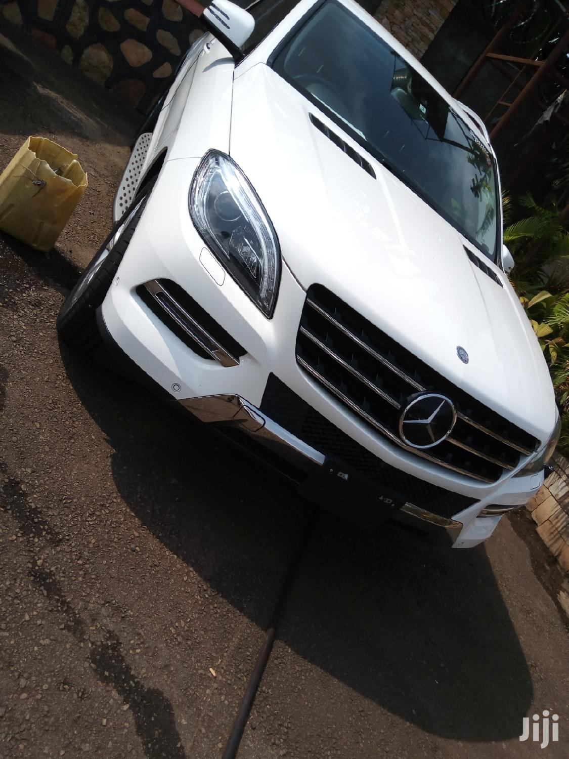 New Mercedes-Benz M Class 2013 White | Cars for sale in Kampala, Central Region, Uganda