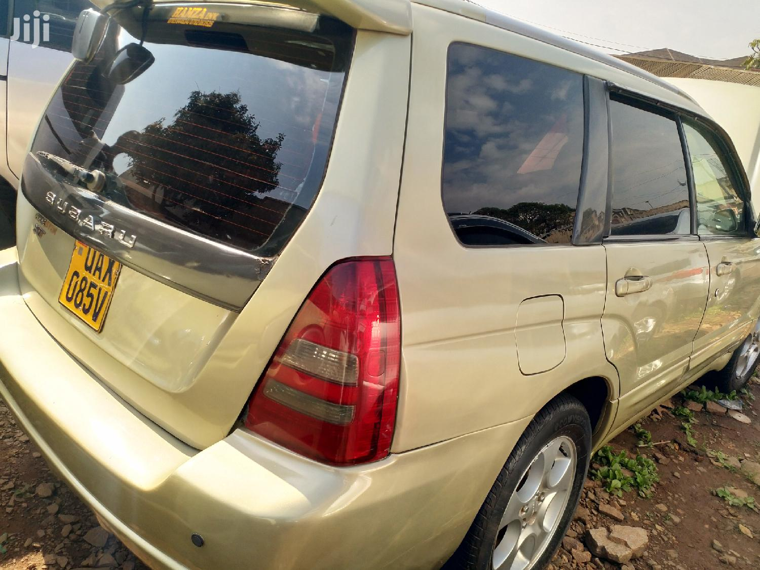 Archive: Subaru Forester 2004 Automatic Gold