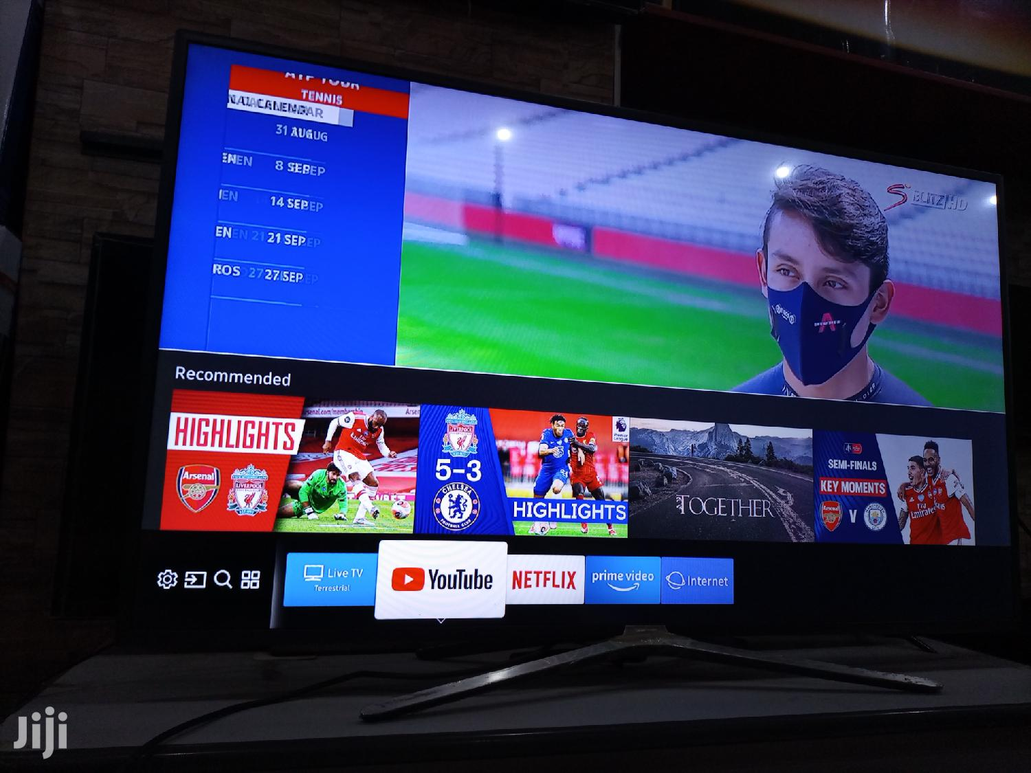 Samsung Smart 4K Super Slim Flat Screen TV 60 Inches | TV & DVD Equipment for sale in Kampala, Central Region, Uganda