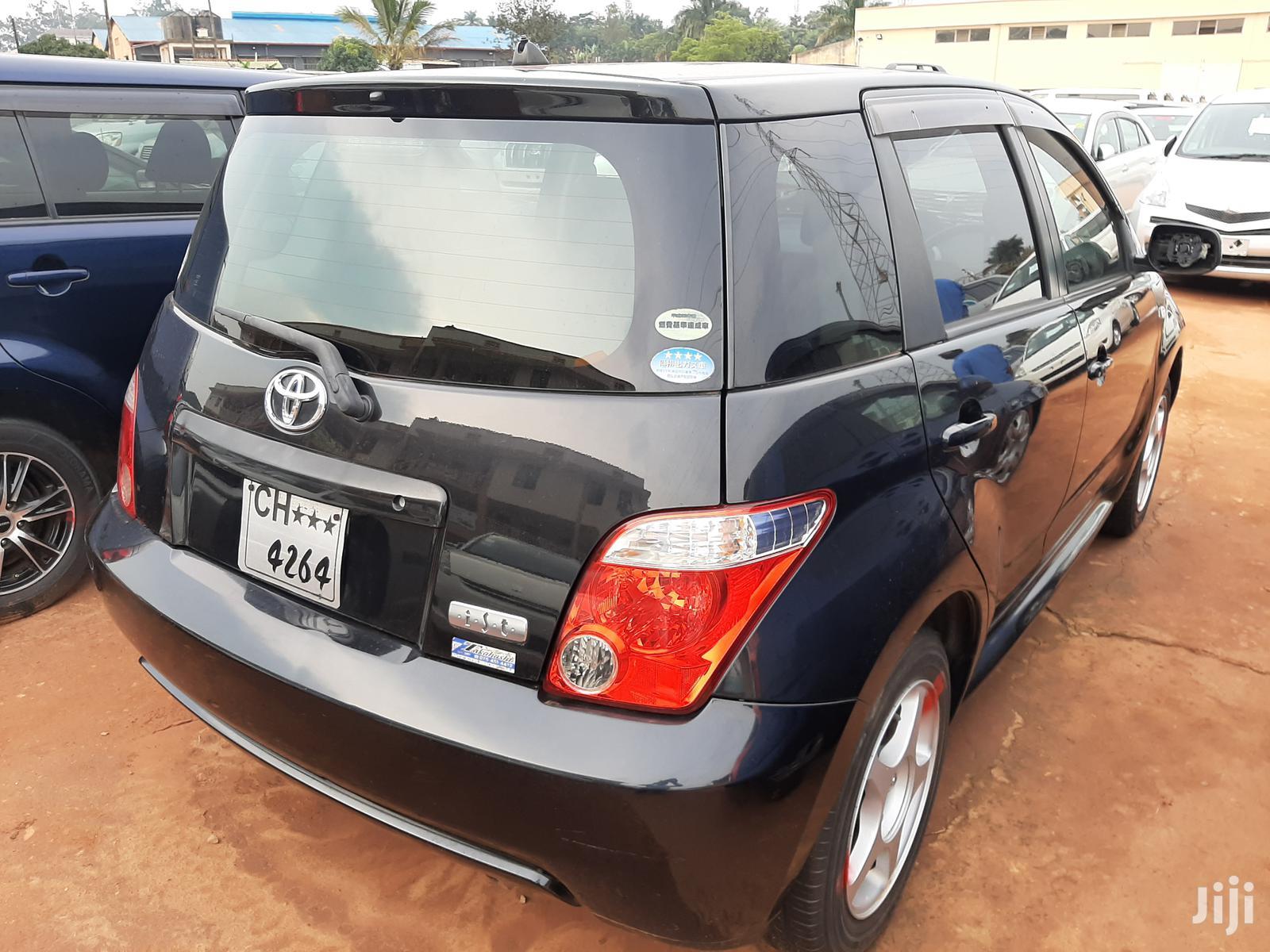 Archive: Toyota IST 2007 Black