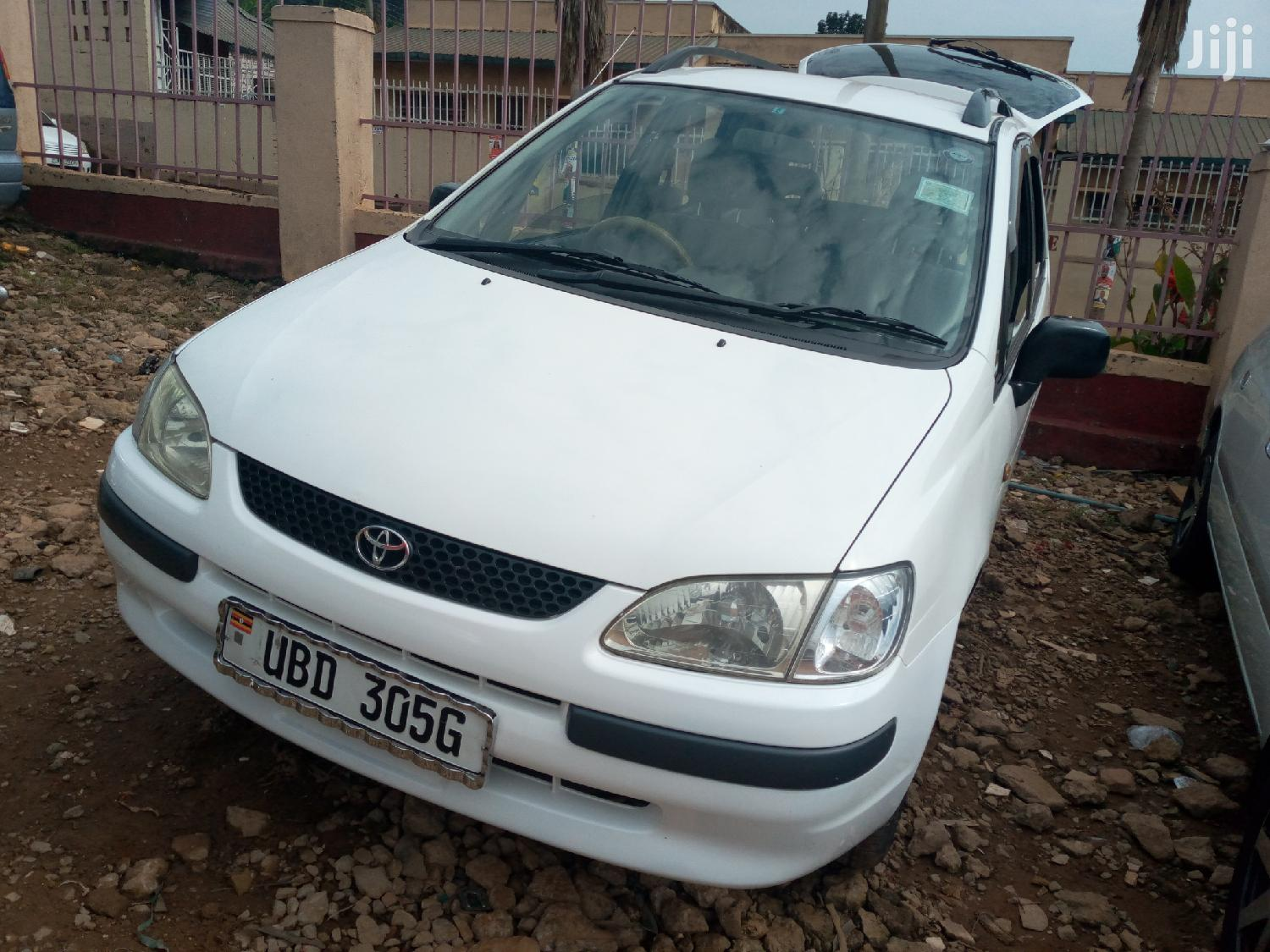 Toyota Spacio 1998 White | Cars for sale in Kampala, Central Region, Uganda