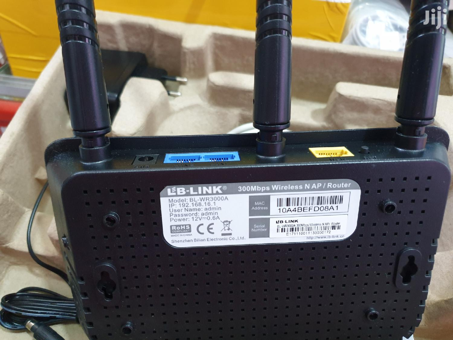 Lb-link Wireless & Lan Router Repeater   Networking Products for sale in Kampala, Central Region, Uganda