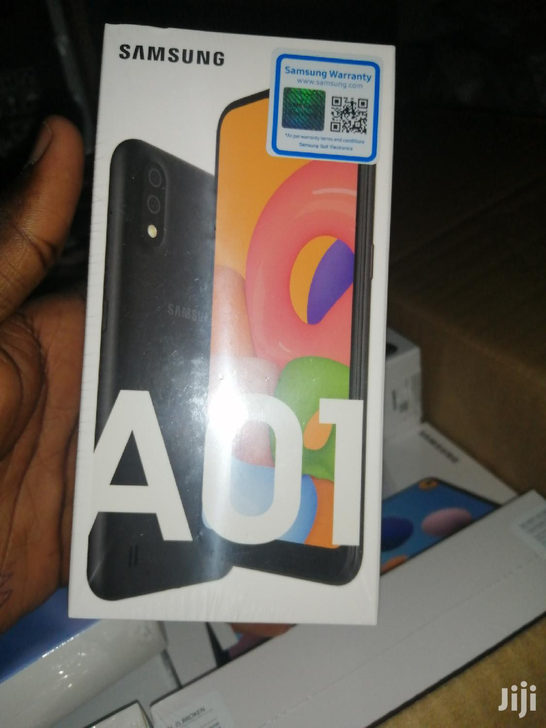 New Samsung Galaxy A01 16 GB Black | Mobile Phones for sale in Kampala, Central Region, Uganda